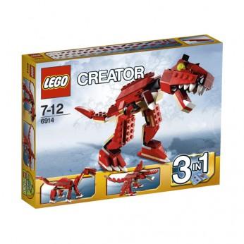 LEGO Creator Prehistoric Hunters 6914 reviews