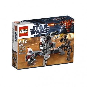 LEGO Star Wars Trooper and Commando Droid B 9488 reviews