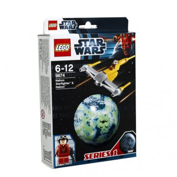 LEGO Star Wars Naboo Starfighter and Naboo 9674 reviews