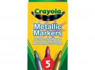 Crayola 5 Metallic Markers