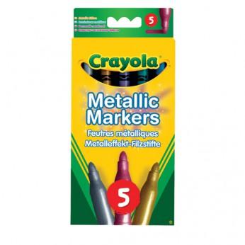 Crayola 5 Metallic Markers reviews