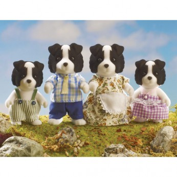 Sylvanian Border Collie Family reviews