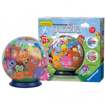 Moshi Monsters 72pc puzzleball reviews
