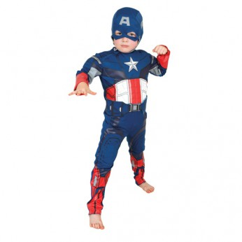Capt. America Costume 5-6 Years reviews