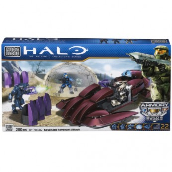 Mega Bloks Halo Covenant Revenant Attack reviews