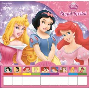 Disney Princess Mini Piano 10 Button Sound Book