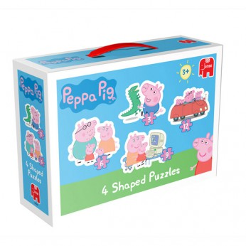 Peppa Pig 4 in 1 Shaped Puzzles reviews