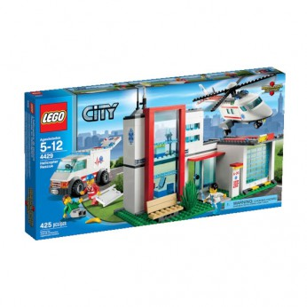 LEGO City Helicopter Rescue 4429 reviews