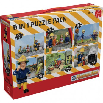 Fireman Sam 6 in 1 Bumper Puzzle Pk reviews