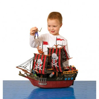 Deluxe Pirate Ship Playset reviews