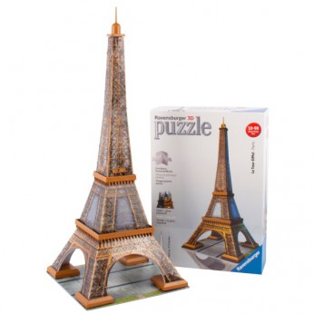 3D Eiffel Tower Puzzle 216 Piece reviews