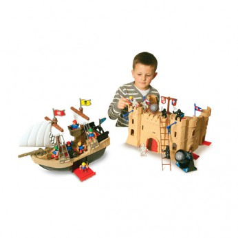 Pirate Ship and Castle Playset reviews