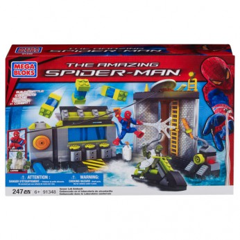 Mega Bloks Spider-Man Sewer Lab Ambush reviews