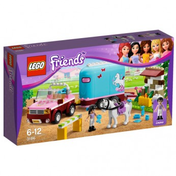 LEGO Friends Emmas Horse Trailer 3186 reviews