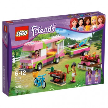 LEGO Friends Adventure Camper 3184 reviews