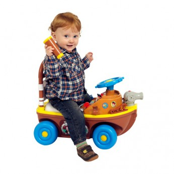 Jake's Pirate Boat Ride-On reviews
