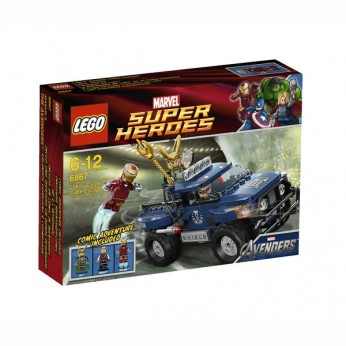 LEGO Super Heroes Loki's Cosmic Cube Escape 6867 reviews