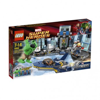 LEGO Super Heroes Hulk's Helicarrier Breakout 6868 reviews