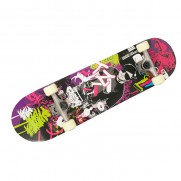 Double Kick DJ Skateboard