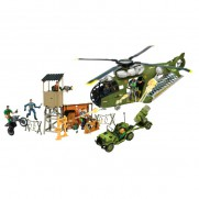 The Corps Flying Fortress Battle Zone Playset
