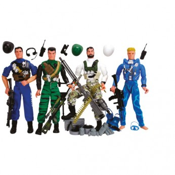 Ultra Corps 4 Figure Pack reviews