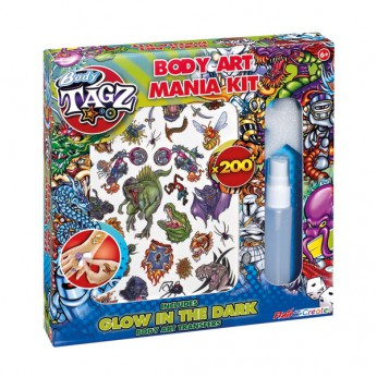 Body Tagz Body Art Mania Kit reviews