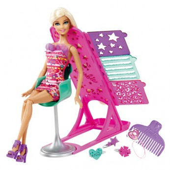 Barbie Hairtastic Colour and Design Doll reviews