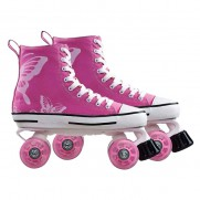 Canvas Boot Quad Skate (Size 40)