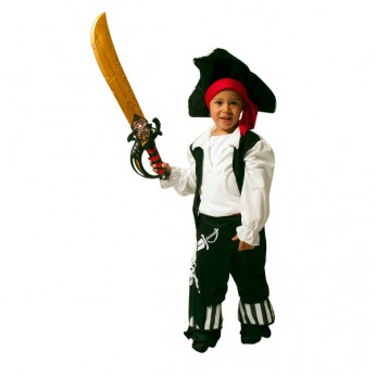 Pirate Costume Small reviews
