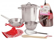 Stainless Steel Cookware Playset