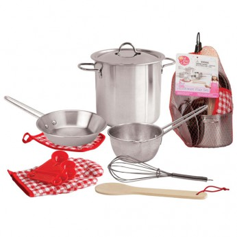 Stainless Steel Cookware Playset reviews