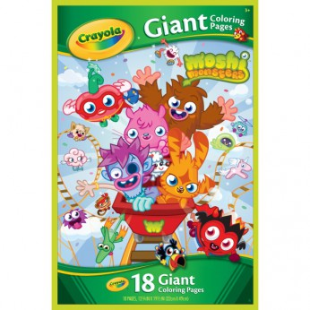 Moshi Monsters Giant colouring Pages reviews