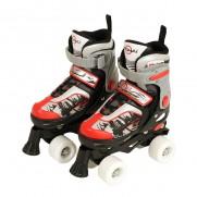 Quad Skate Red/Black (Size 29-32)
