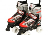 Quad Skate Red/Black (Size 29-32)