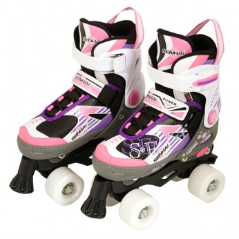 Quad Skate Pink/Purple (Size 33-36) reviews