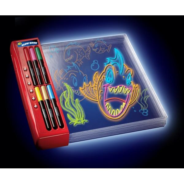 Crayola Glow Explosion Glow Book Reviews Toylike