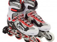 Adjustable Inline Skate Red/Black (Size 40-43)