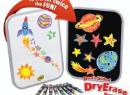 Dual-Sided Dry Erase Board Set