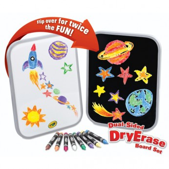 Dual-Sided Dry Erase Board Set reviews