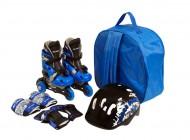 Tri Skate Combo Set Blue