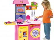 Molto Deluxe Pink Kitchen