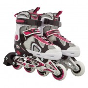 Adjustable Inline Skate Pink/Black (40-43)