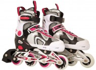 Adjustable Inline Skate Pink/Black (33-36)