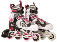 Adjustable Inline Skate Pink/Black (33-36)