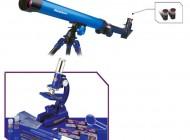 Deluxe Microscope and Telescope Set