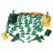 50 Piece Army Men Playset