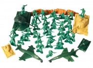 50 Piece Army Men Playset