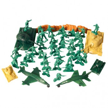 50 Piece Army Men Playset reviews