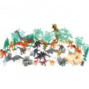 60 Piece Dinosaur Animal Playset
