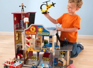 Kidkraft Wooden Hero Set with Vehicles